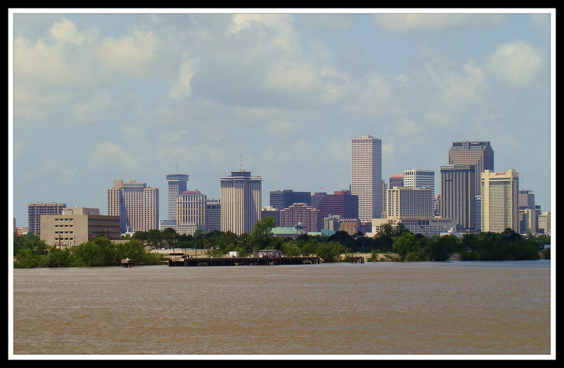 New Orleans from the River