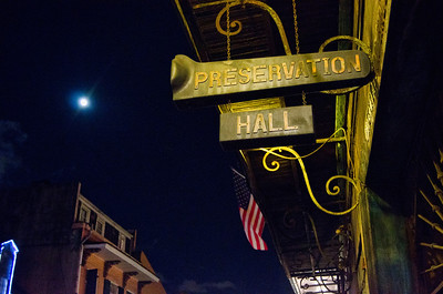 Landmark music club in the French Quarter of New Orleans
