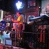 Random Bourbon Street bar...the washboards quickly became a hit.