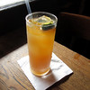 A refreshing, lemony Pimm's Cup cocktail at Napoleon House, a historic bar in the French Quarter.