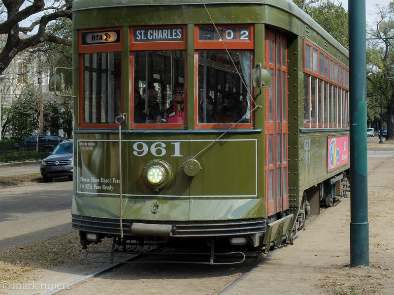St. Charles trolley