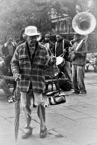 Jackson Square Street Performer 2