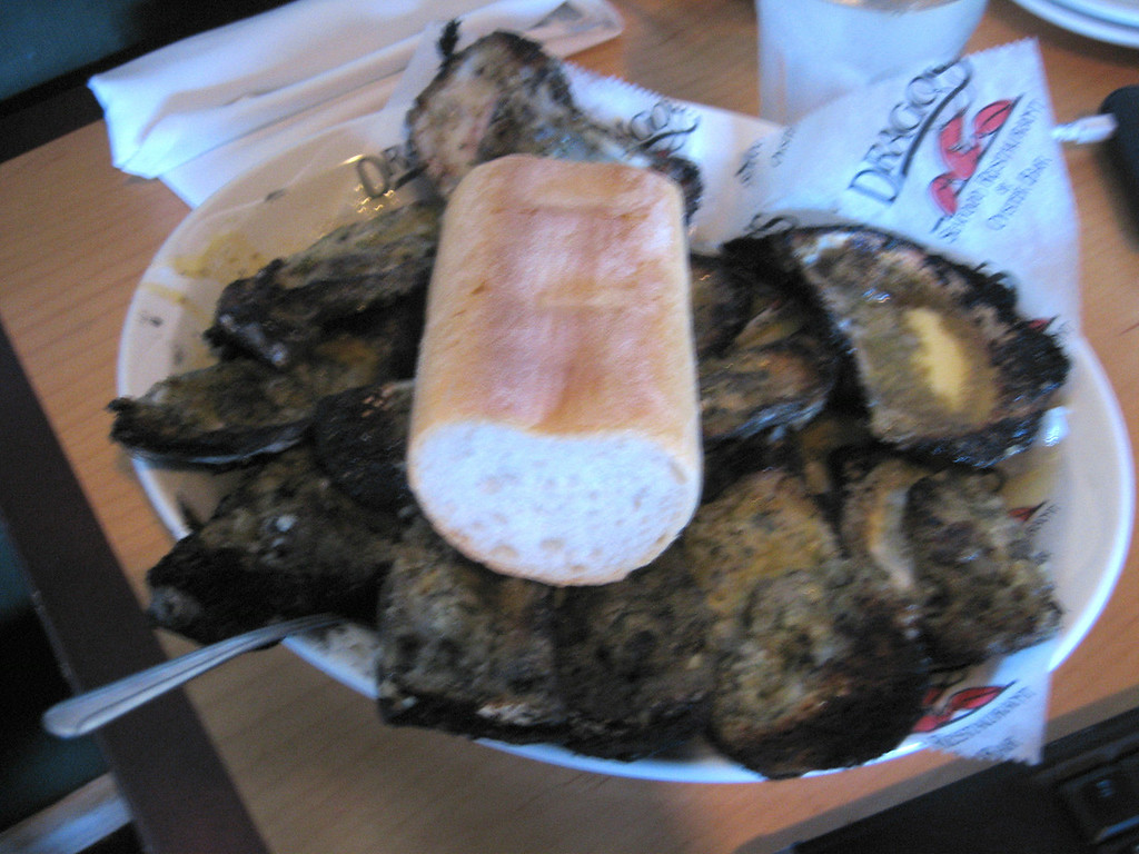 Dragos Charbroiled oysters