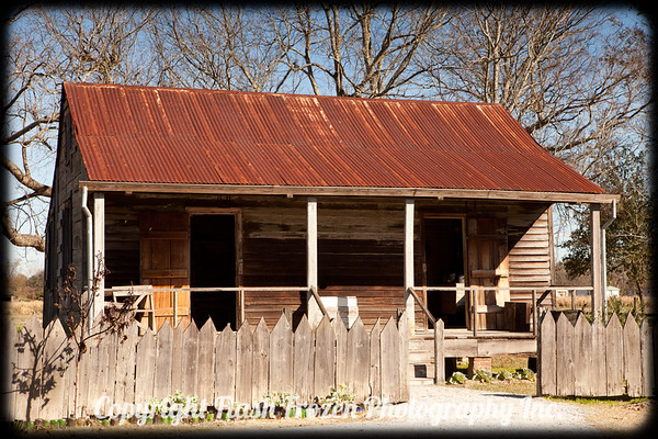 Slave Quarters in Laura Plantation