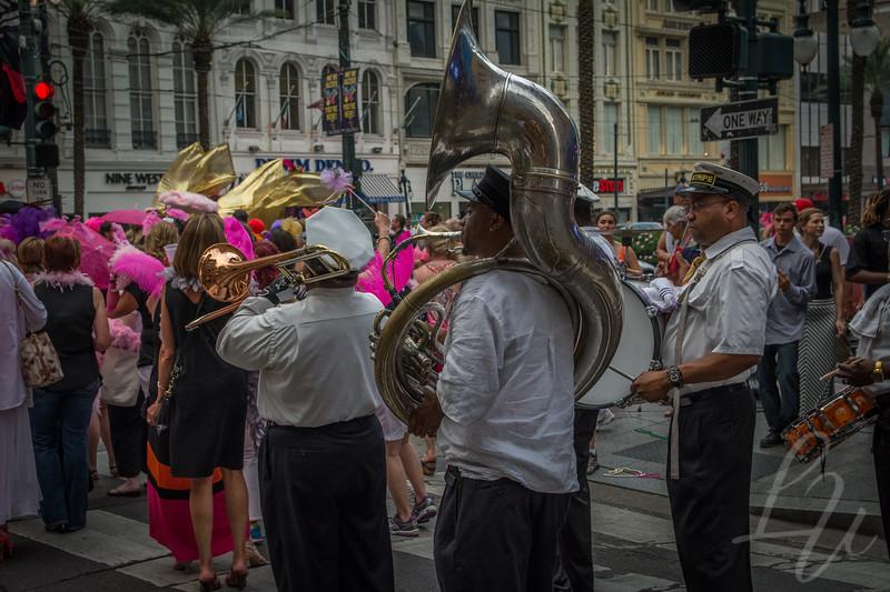 The Second Line Parade