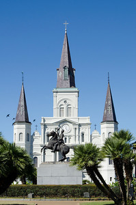 St. Louis Cathedral, Jackson Square, New Orleans, Louisiana