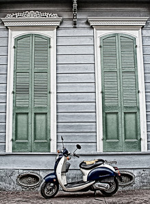 French Quarter Vespa