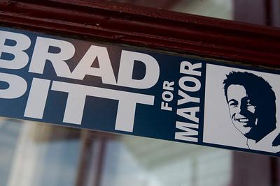 Bradd Pitt for Mayor
