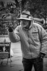 Jackson Square Street Performer