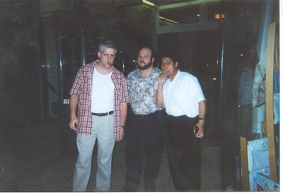 Sales meeting after Digital Automation Conference.<br /> That's Bernie to my right with a Cuban.