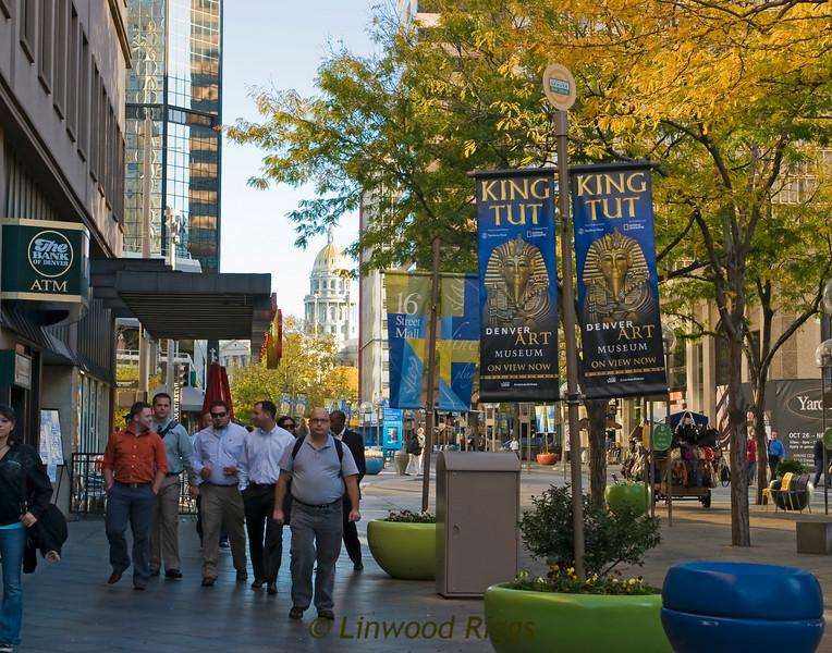 16th St. Mall, Denver, Colorado