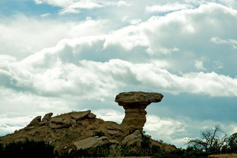 Camel's Head, outside Santa Fe, New Mexico