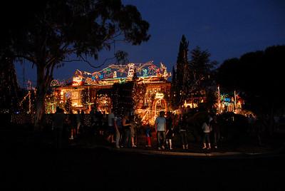 Christmas Lights Up