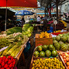 Market in Sade town, Sichuan