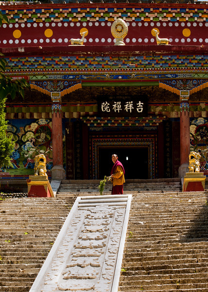 Tibetan Monastery in Kangding/Dartsedo