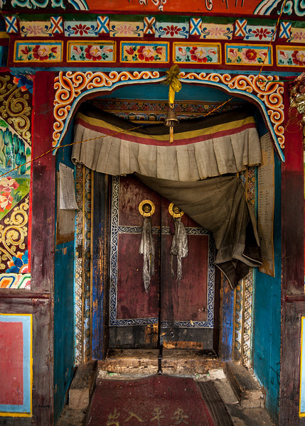 Door to a small Gompa