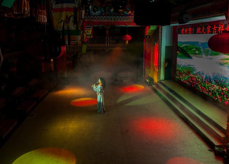 Tibetan Karaoke Bar in Chengdu
