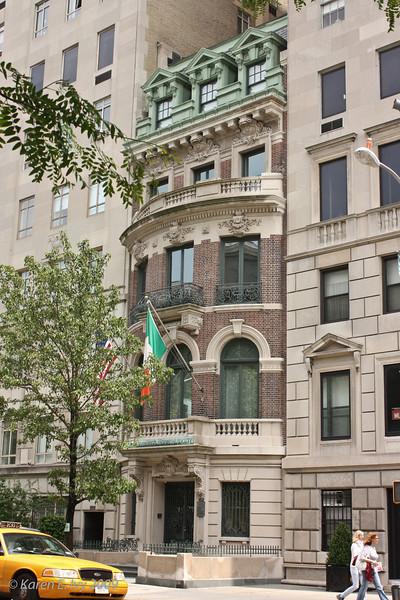 American Irish Historical Society, 5th Avenue