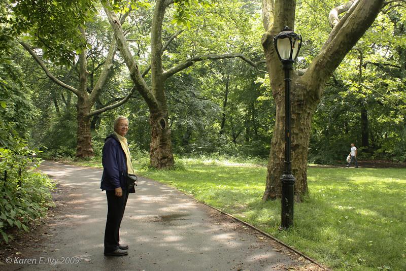 Jim in Central Park