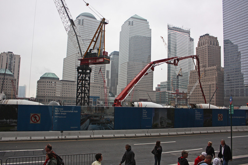 World Trade Center site, May 2009
