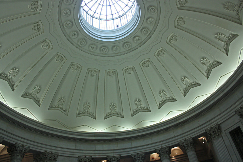 Old Customs House - dome and skylight
