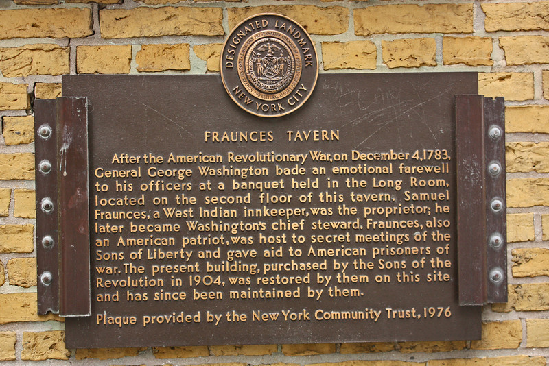 Fraunces Tavern, lower Manhattan