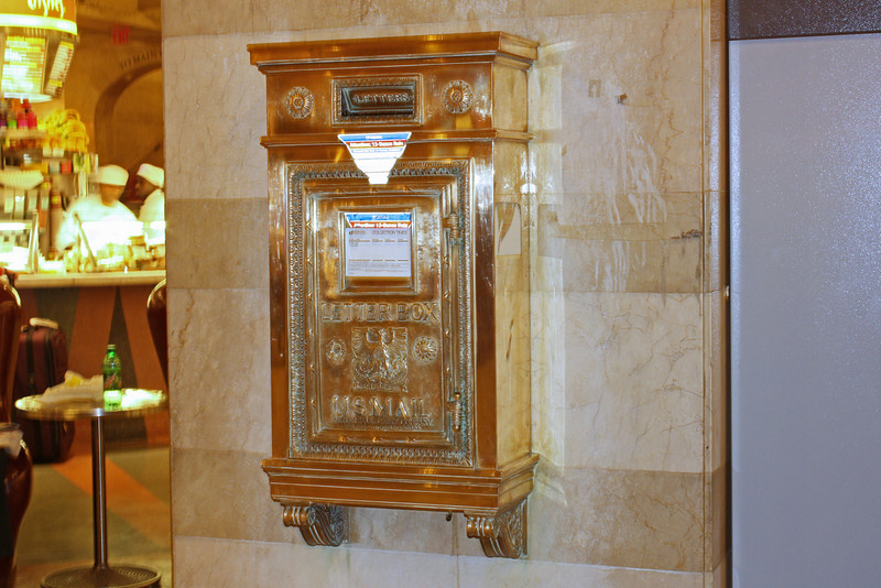 Mailbox, Grand Central Station
