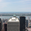 View from the Top of the Rock west to Hudson River