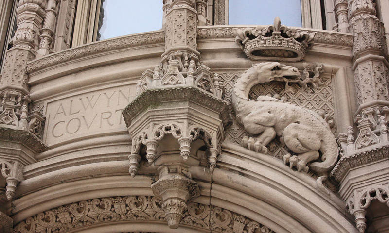 Alwyn Court detail