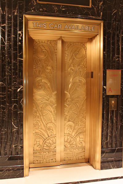 Elevator, Jumeirah Essex House