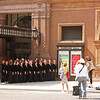 Carnegie Hall - and a women's chorus being photographed