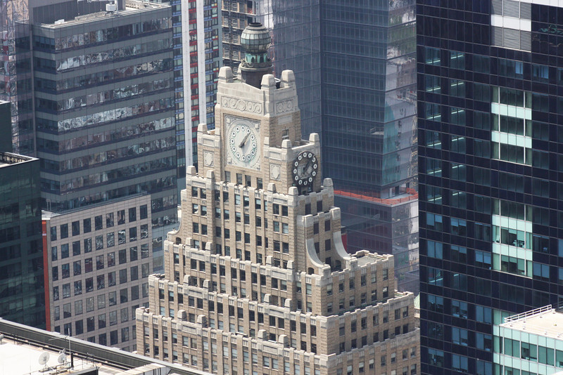 Paramount Building from Top of the Rock