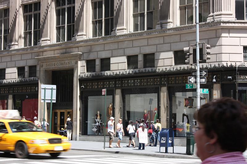 Saks, Fifth Avenue