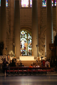 Altar in Cathedral of St. John the Divine.