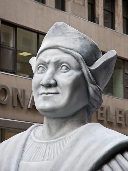 Christopher Columbus himself!