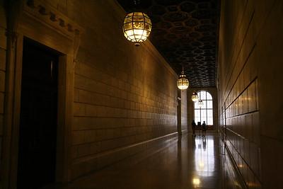Hall in NY Public Library
