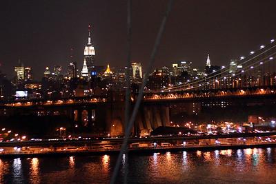 NY Skyline from Brooklyn Bridge