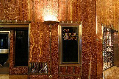 Entry to Chrysler Building