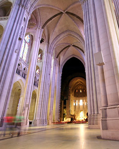 Cathedral of St. John the Divine interior.