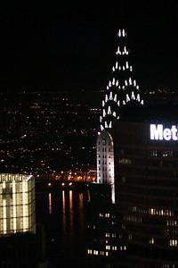 Chrysler Building from Rockefeller Center.