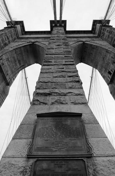 Manhattan side tower.