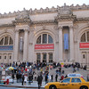 Main entrance to the Metropolitan Museum of Art