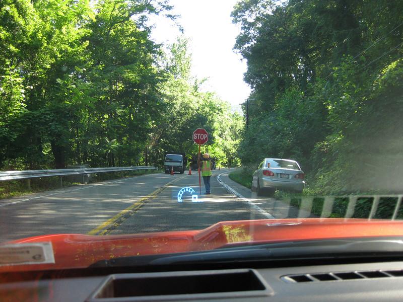 Driving to Garrison Landing, 07/14/2011