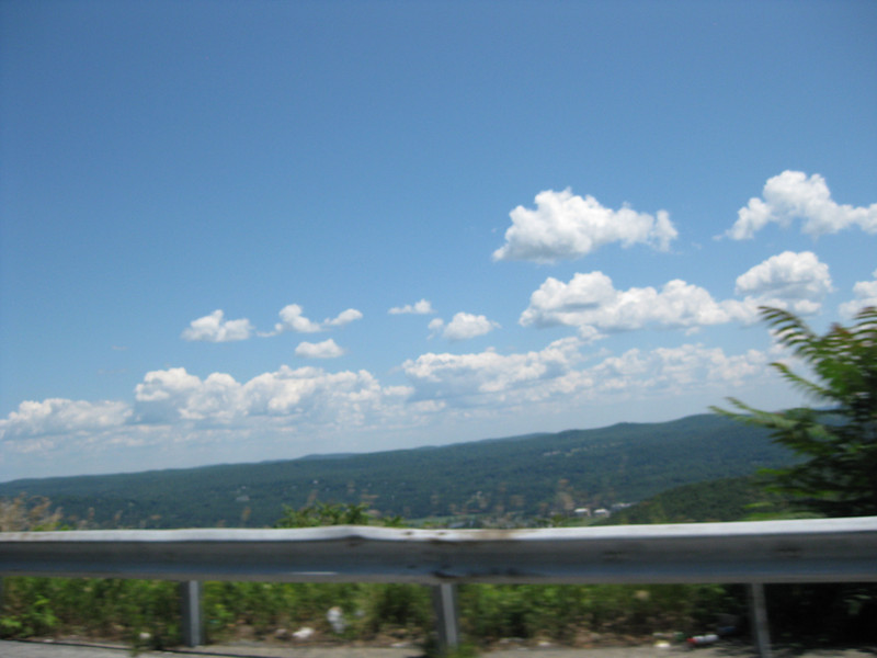 Driving through the mountains with the top down, 07/15/2011