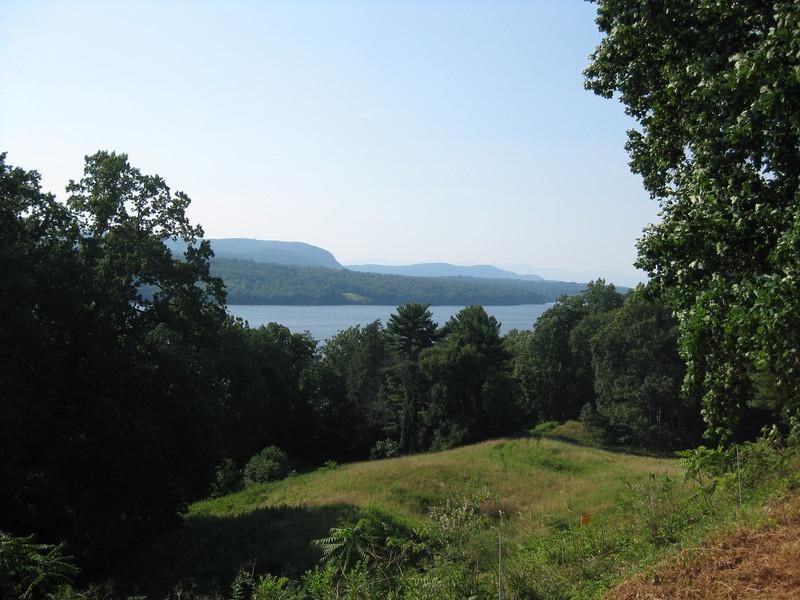 Hudson River view from the Vanderbilt Mansion, Hyde Park, 07/17/2011