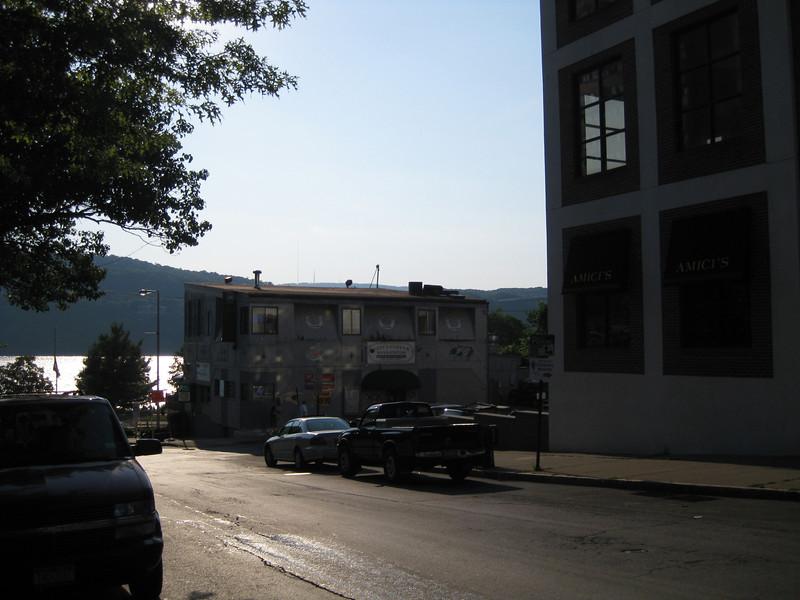 Walking to the Poughkeepsie riverfront, 07/17/2011