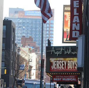 Jersey Boys Marquee - great show!
