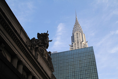 Grand Central Terminal and Empire State Building
