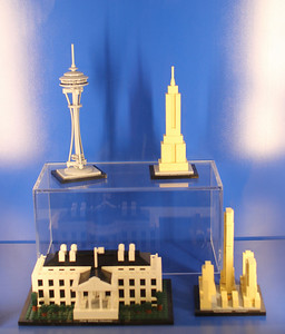 the Lego Architecture series