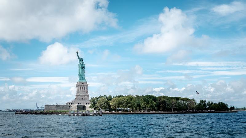 Liberty Island | New York, NY | August 2015